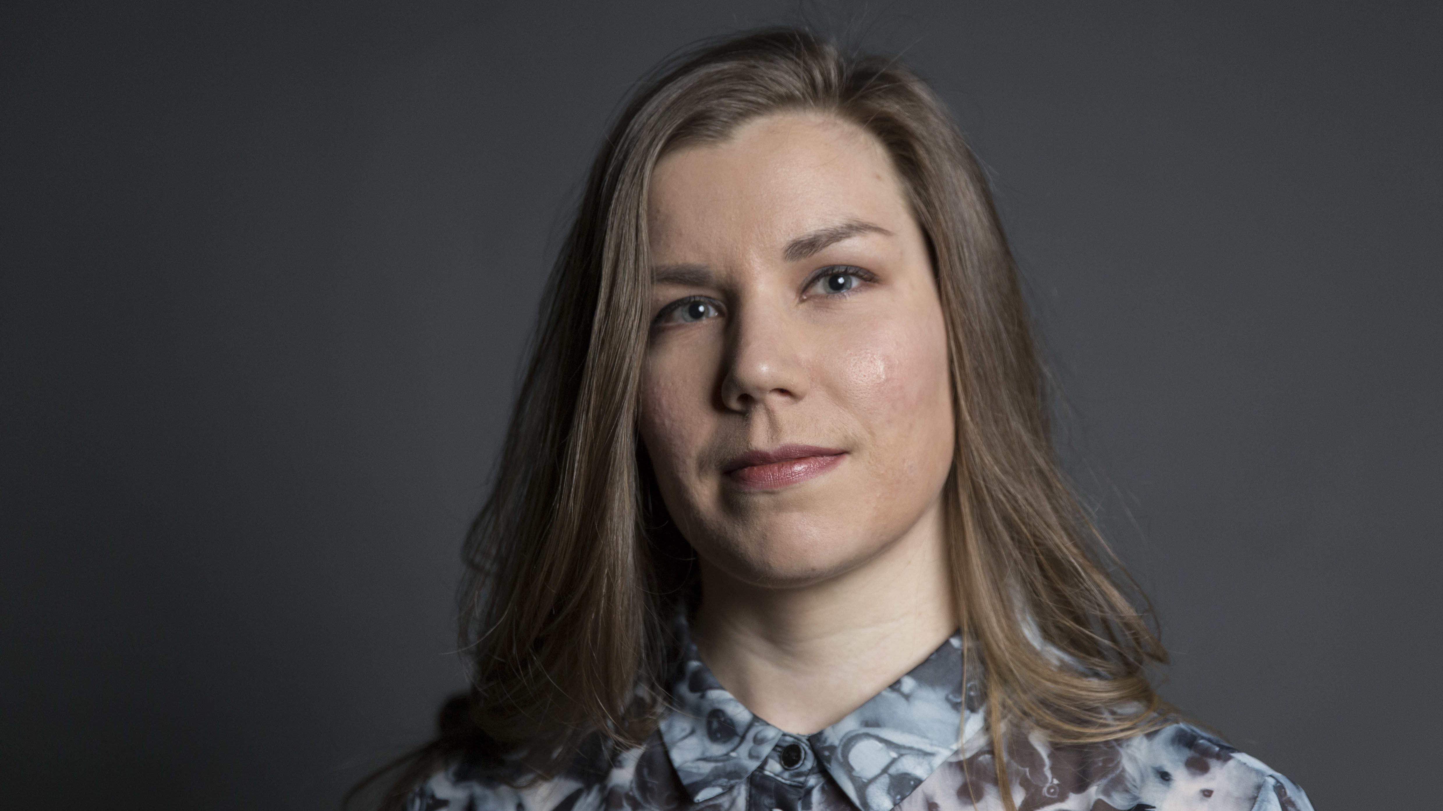 Laura Haallamaa / kolumnisti / Pasila 20.02.2019
