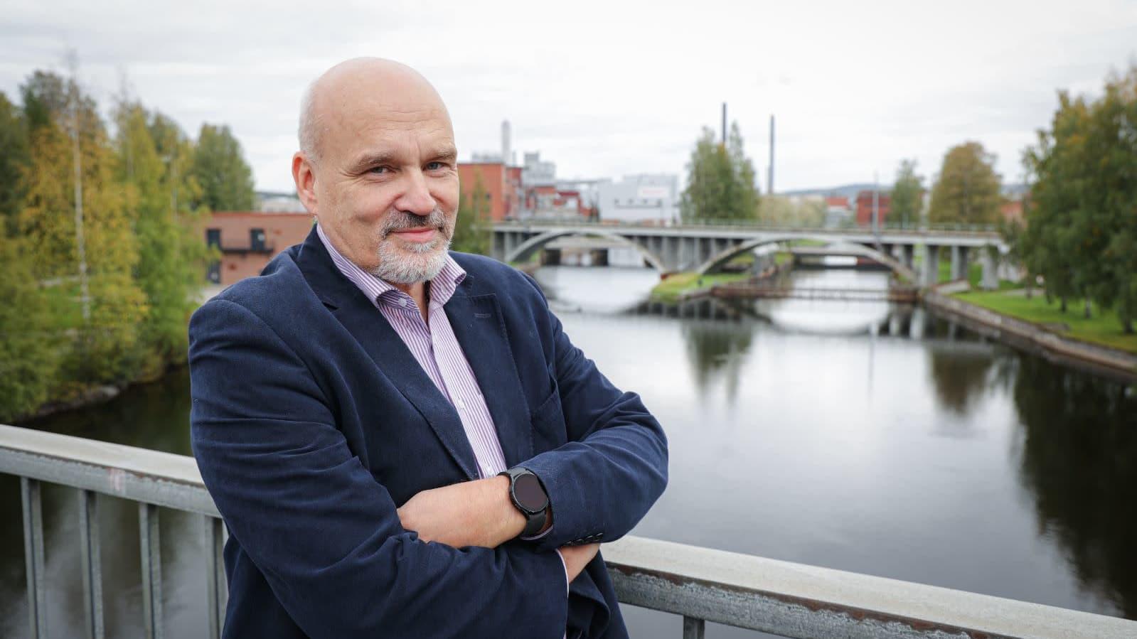 Äänekosken kaupunginjohtaja Matti Tuononen.