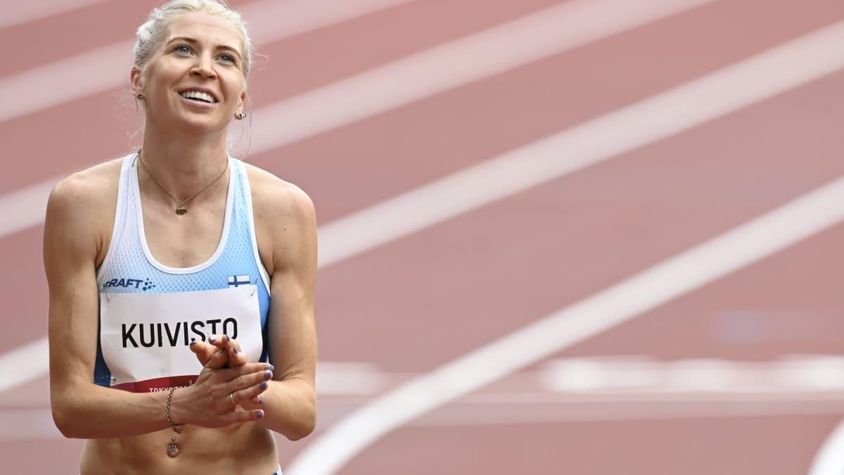 Sara Kuivisto juoksi välieriin 800 metrillä uudella SE-ajalla!
