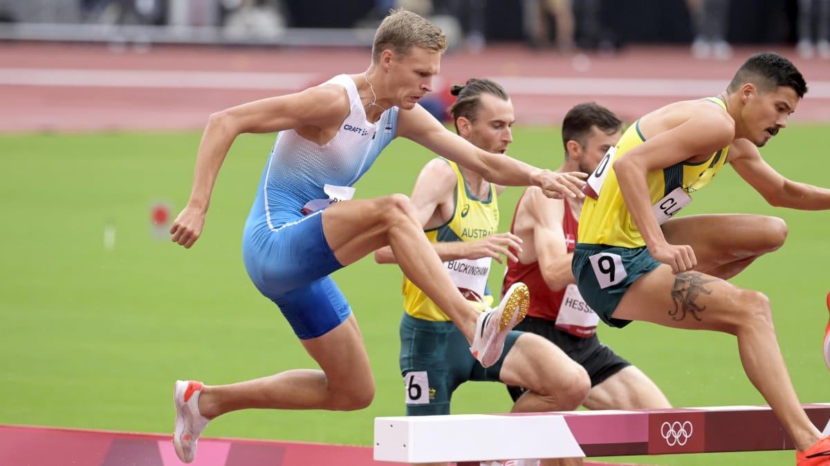 Topi Raitanen nousi upeasti viimeisellä kierroksella 3000 metrin esteissä 8. sijalle