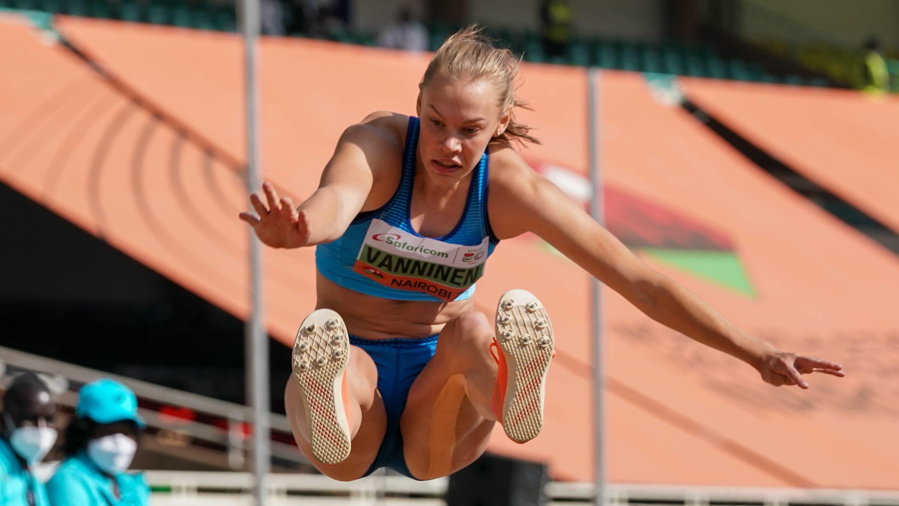 Saga Vanninen otteli nuorten maailmanmestariksi!