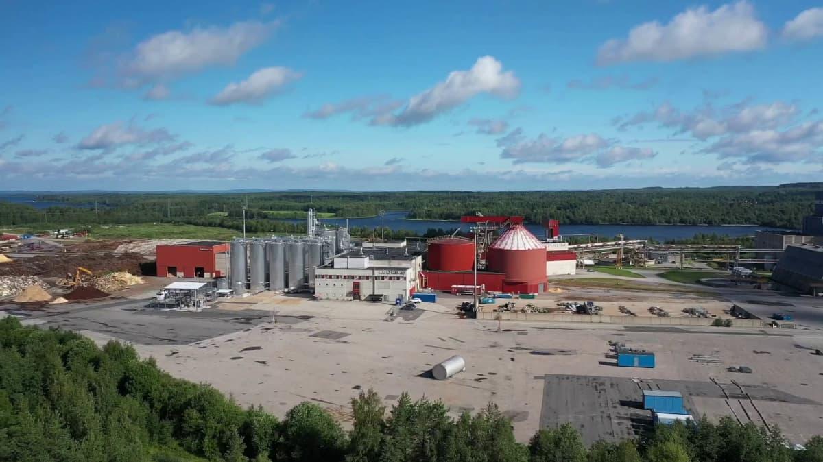Kajaanissa valmistetaan bioetanolia sahanpurusta.