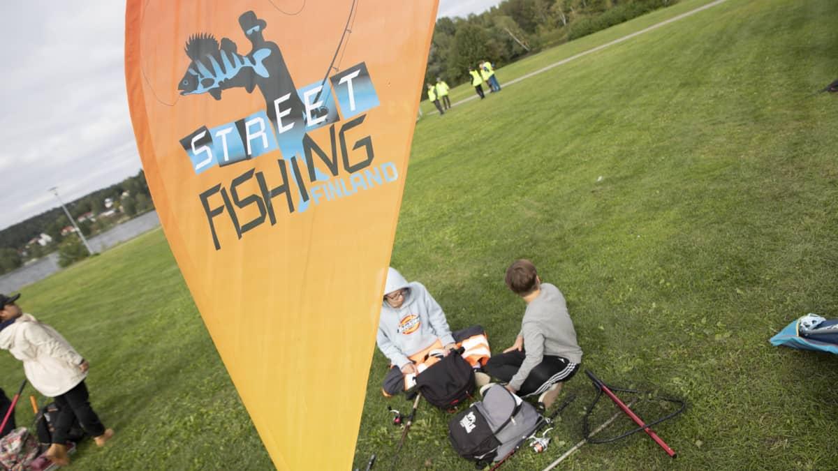 Kalastuskilpailu Hämeenlinnassa