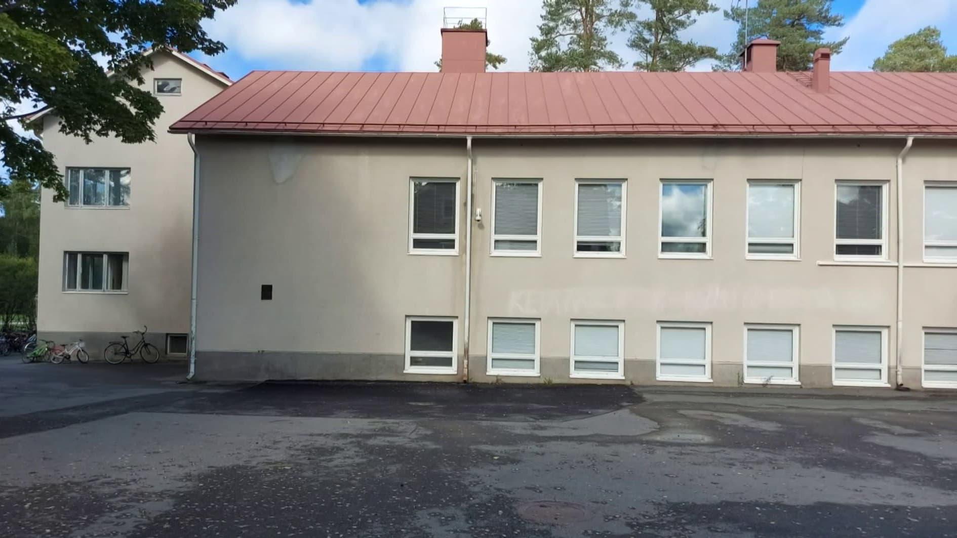 Ruununmyllyn koulu Hämeenlinnassa