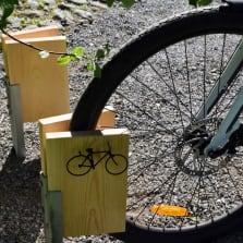 Polkupyörän parkkipaikka