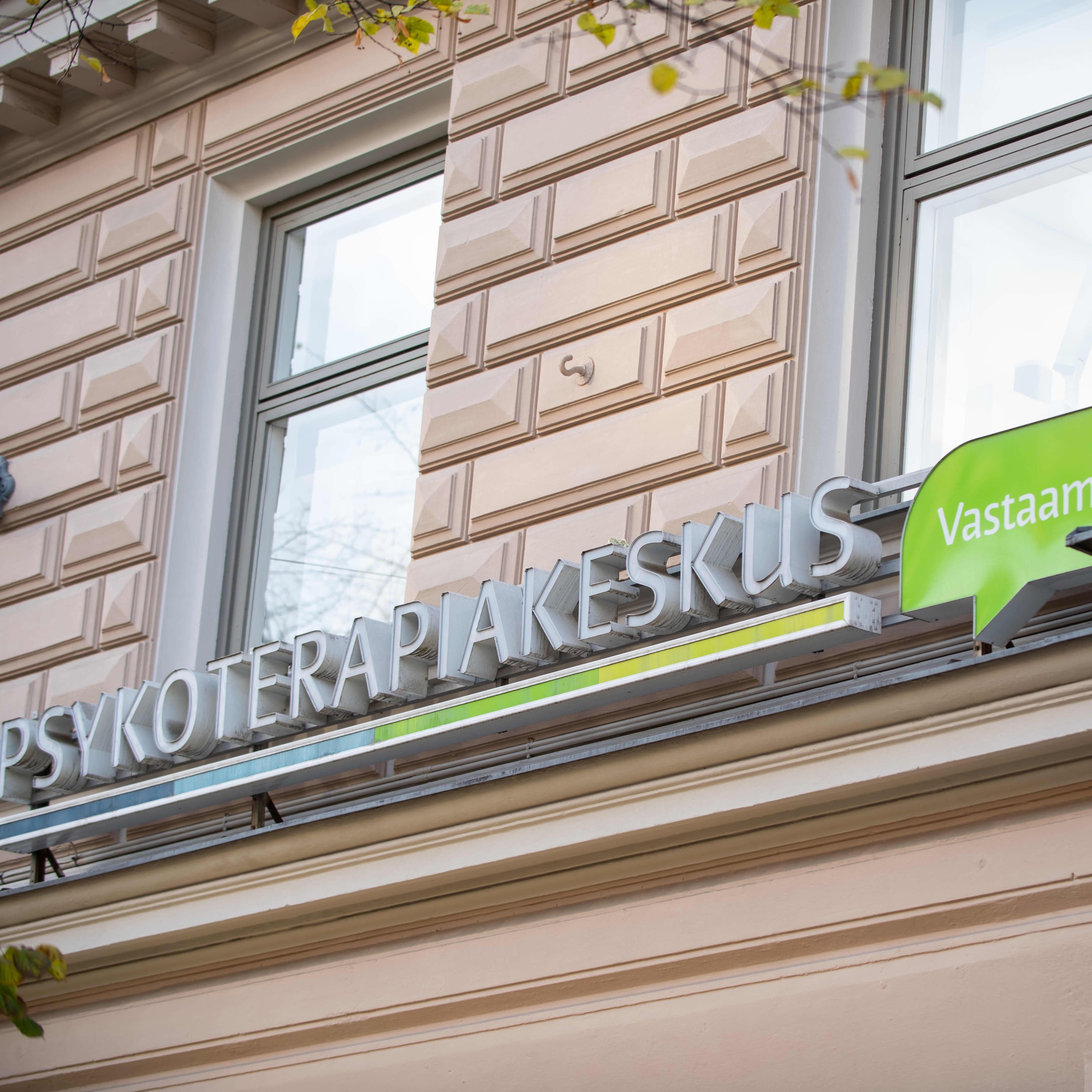 Psykoterapiakeskus Vastaamo.