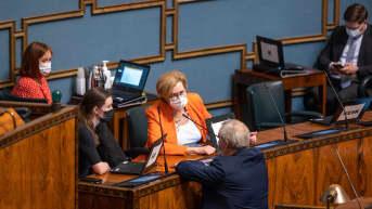 Eduskunnan täysistunto 14.5.2021