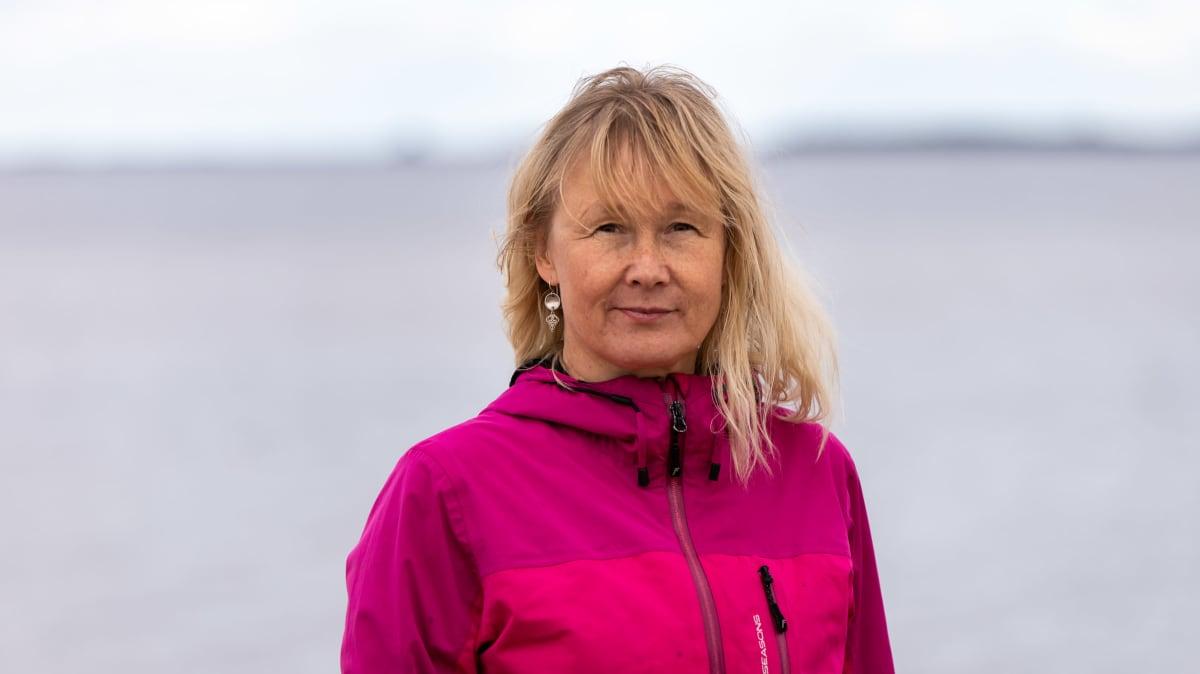 Saamelaismuseo Siidan arkeologi Eija Ojanlatva.