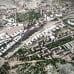 Havainnekuva Riihimäen asemanseudusta ilmasta kuvattuna
