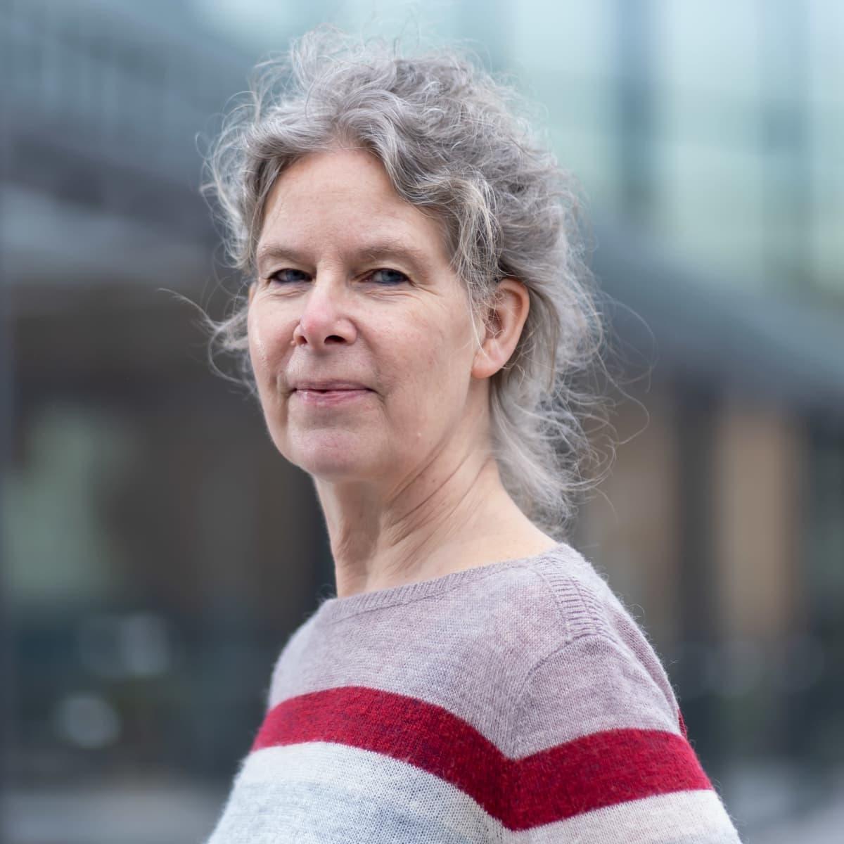 THL:n ylilääkäri Hanna Nohynek, Helsinki, 30.3.2021.
