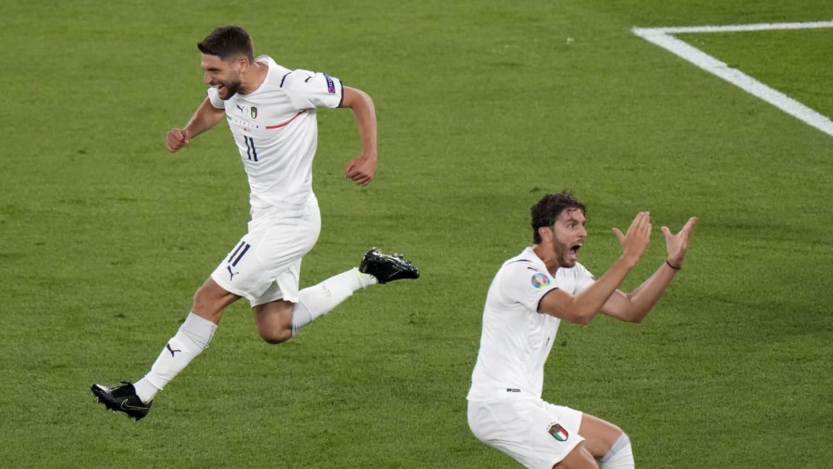 Italia juhlii turnauksen avausmaalia