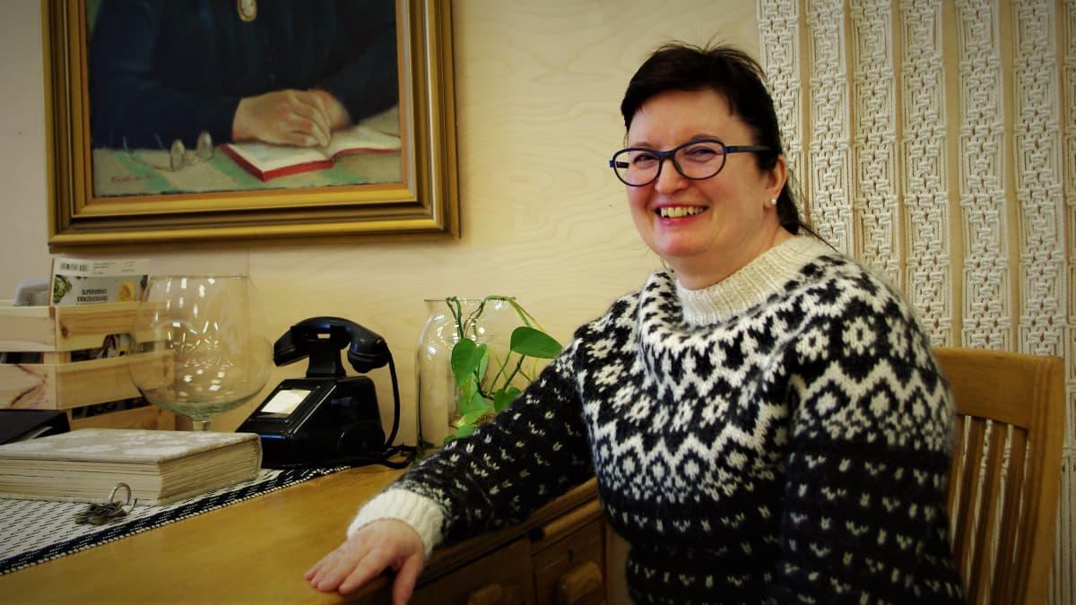 Lankavan toimitusjohtaja Kirsti Karppinen