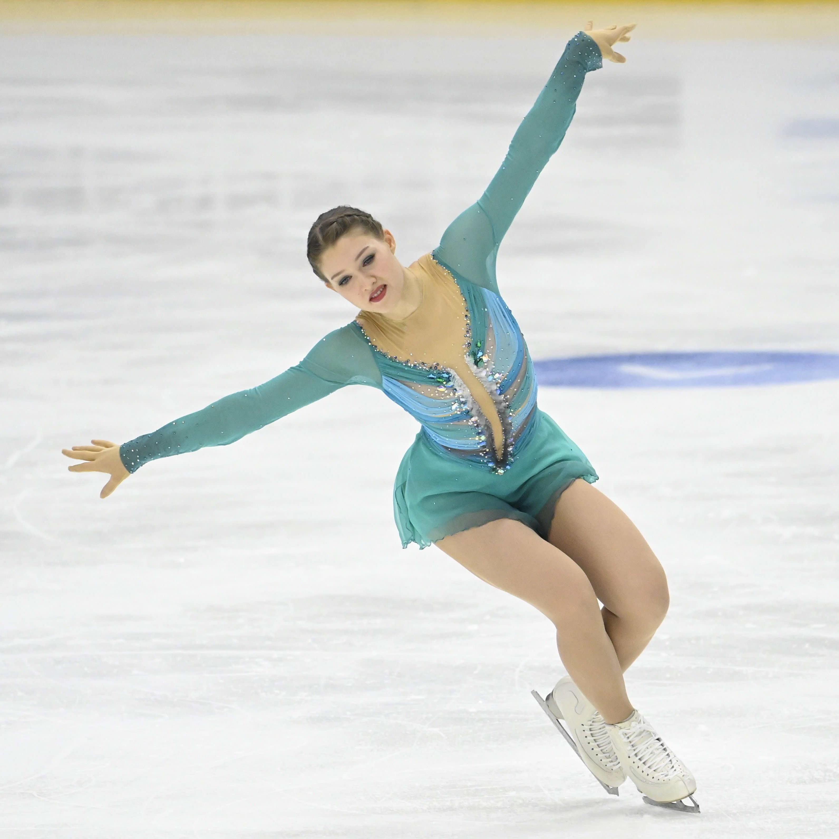 Jenni Saarisen vapaaohjelma Finlandia Trophy-kisassa