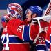 Carey Price ja Artturi Lehkonen halaavat NHL:n finaalipaikan ratkettua.