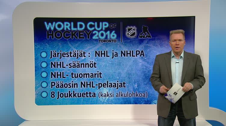 Jääkiekkoa: Mikä ihmeen jääkiekon World Cup?