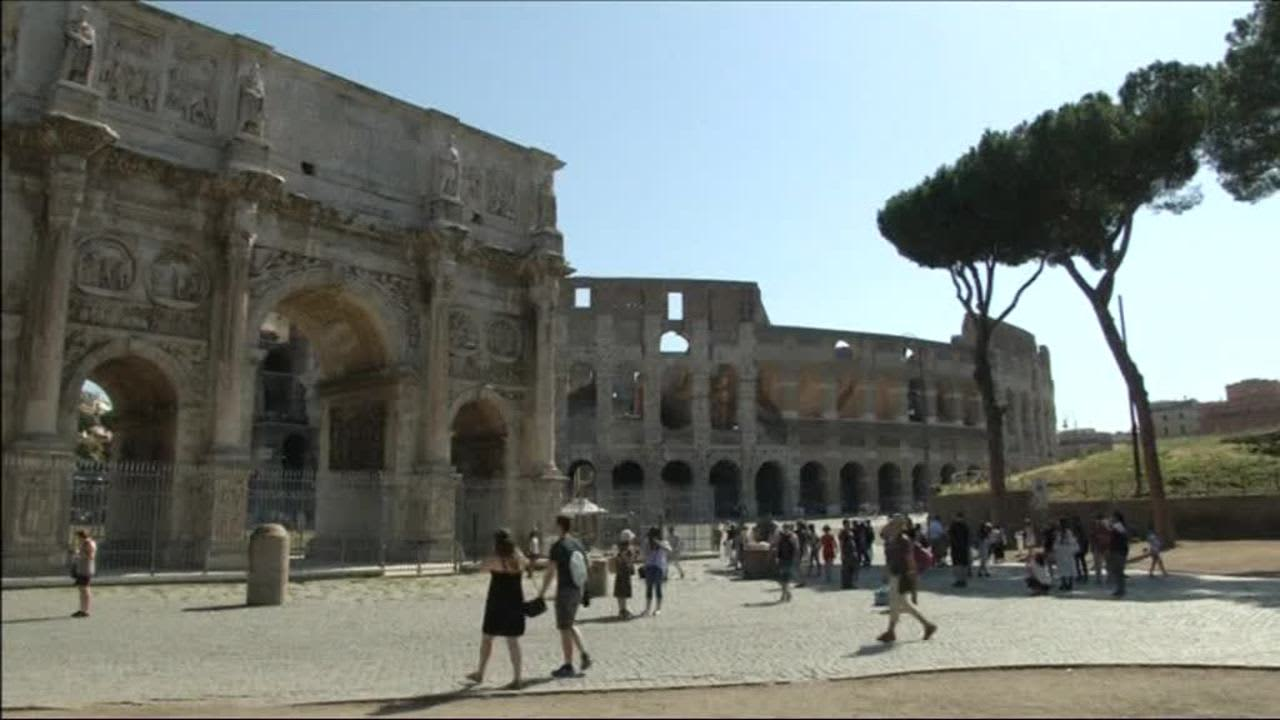 Uutisvideot: Rooman Colosseum hohtaa taas vaaleana – Miljardööri maksaa kulut