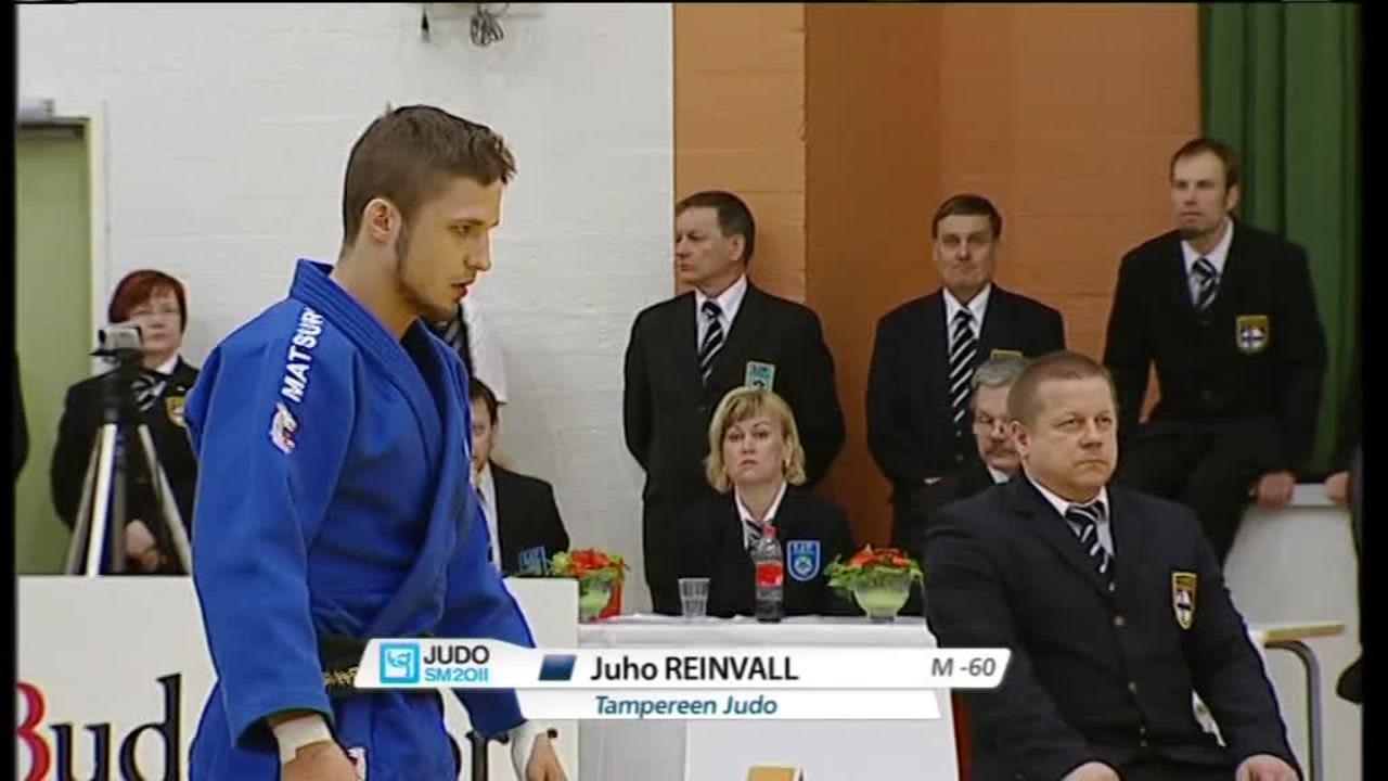 Rion olympialaiset: Arkistoista: Juho Reinvall löysi judon 20 vuotta sitten lehti-ilmoituksen innoittamana