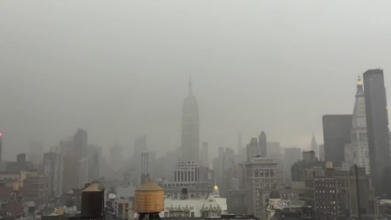 Uutisvideot: Salama iski Empire State Buildingiin