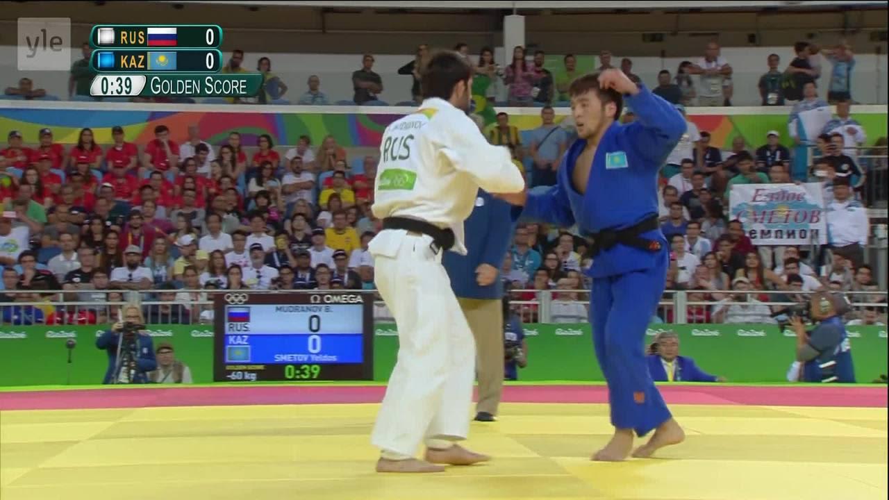 Rion olympialaiset: Beslan Mudranov toi Venäjälle 60-kiloisten judokultaa