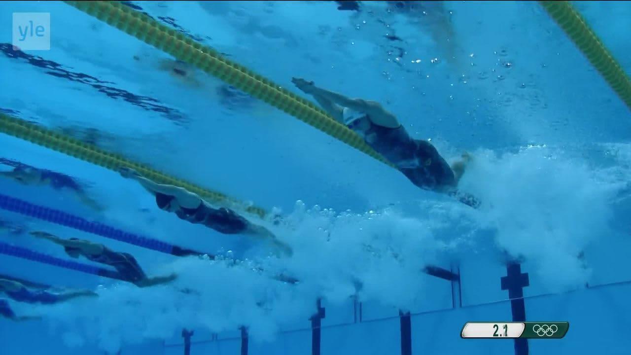 Rion olympialaiset: Unkarin Hosszu kisojen uintikunigatar!