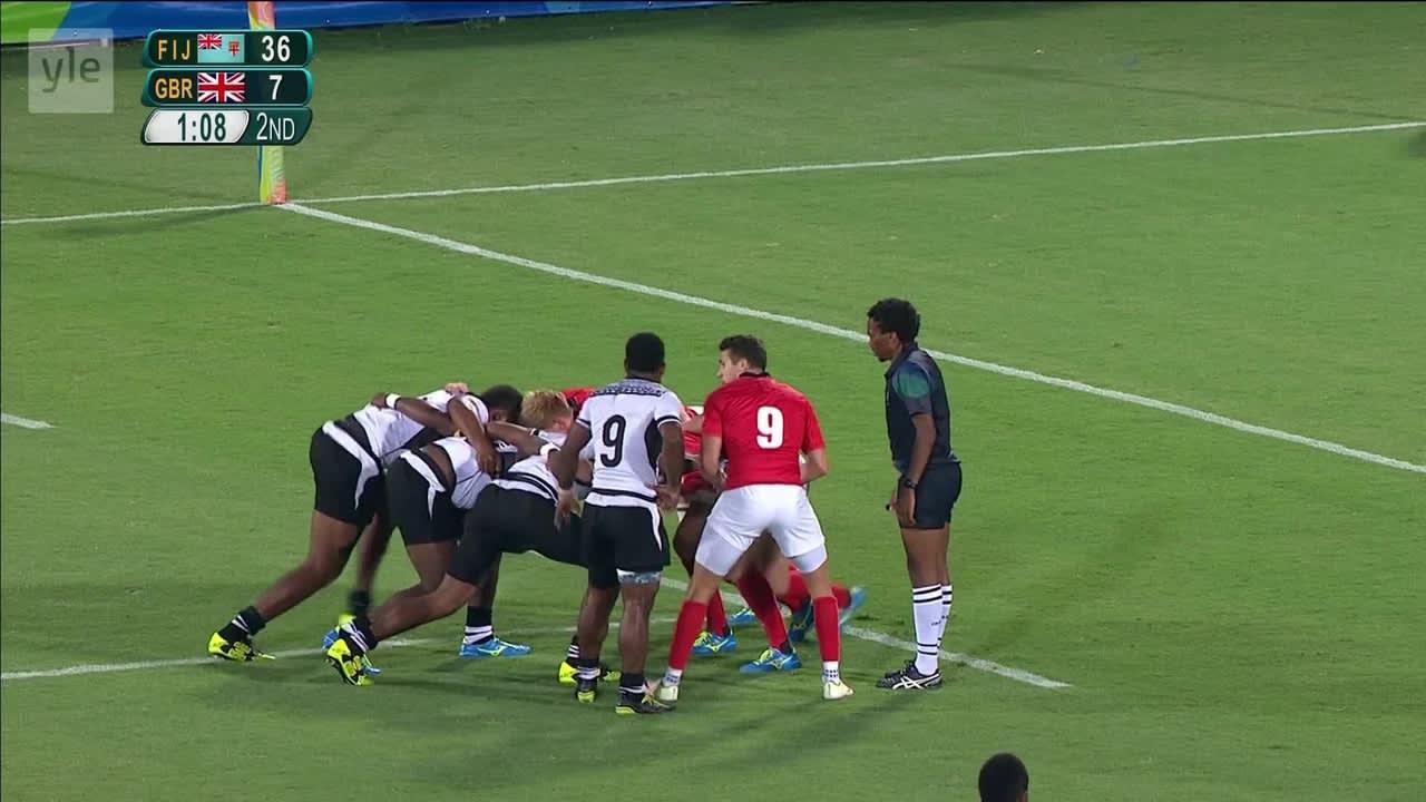 Rion olympialaiset: Fidzi murskasi Iso-Britannian: katso kaikki juoksumaalit