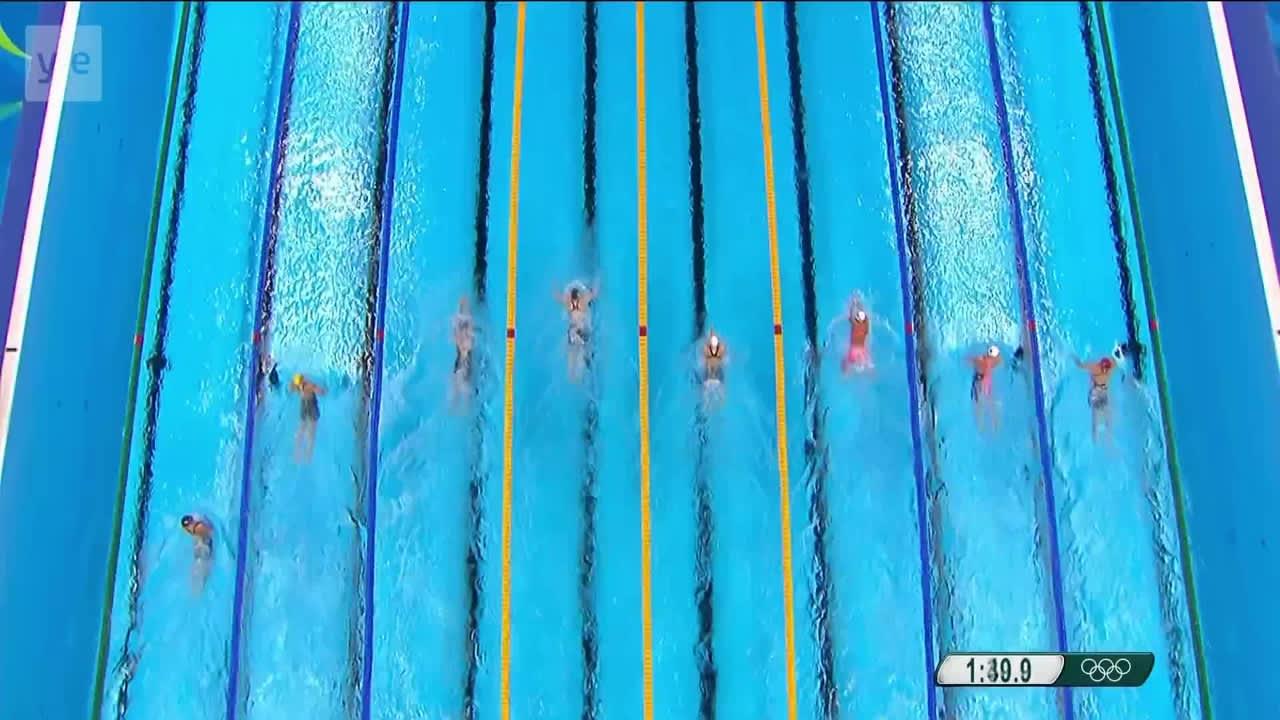 Rion olympialaiset: Yhdysvallat naisten sekaviestin kultaan - Tanska pystyi huippusuoritukseen!