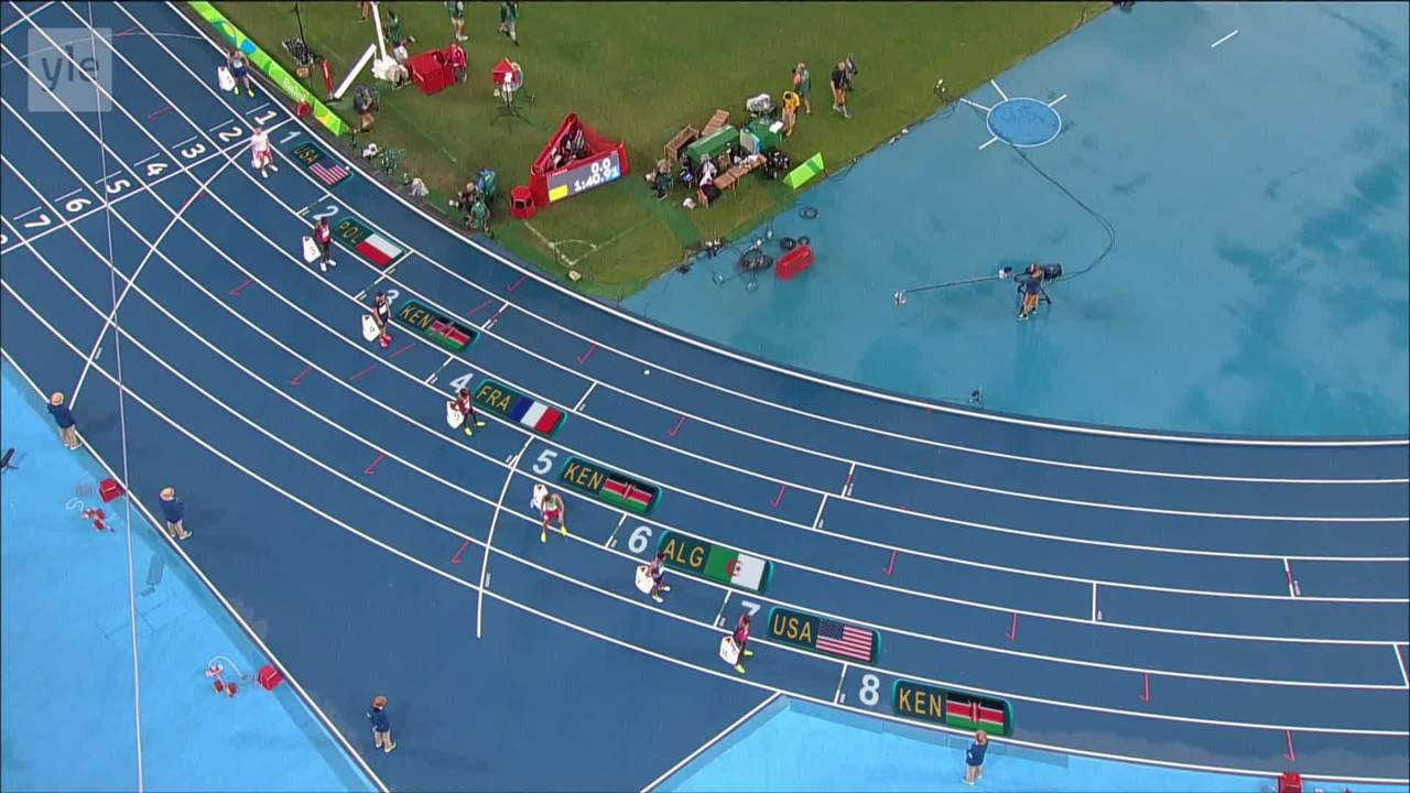 Rion olympialaiset: Rudisha täysin ylivoimainen!