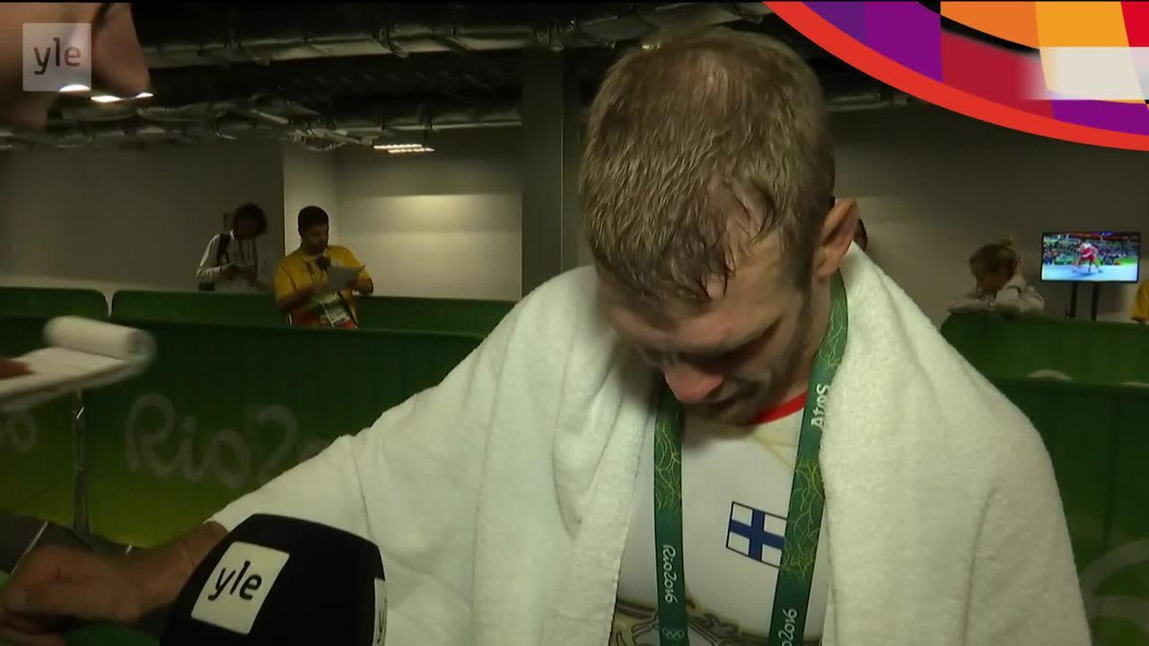 """Rion olympialaiset: Tero Välimäki taipui """"harvinaisen nihkeälle georgialaiselle"""""""