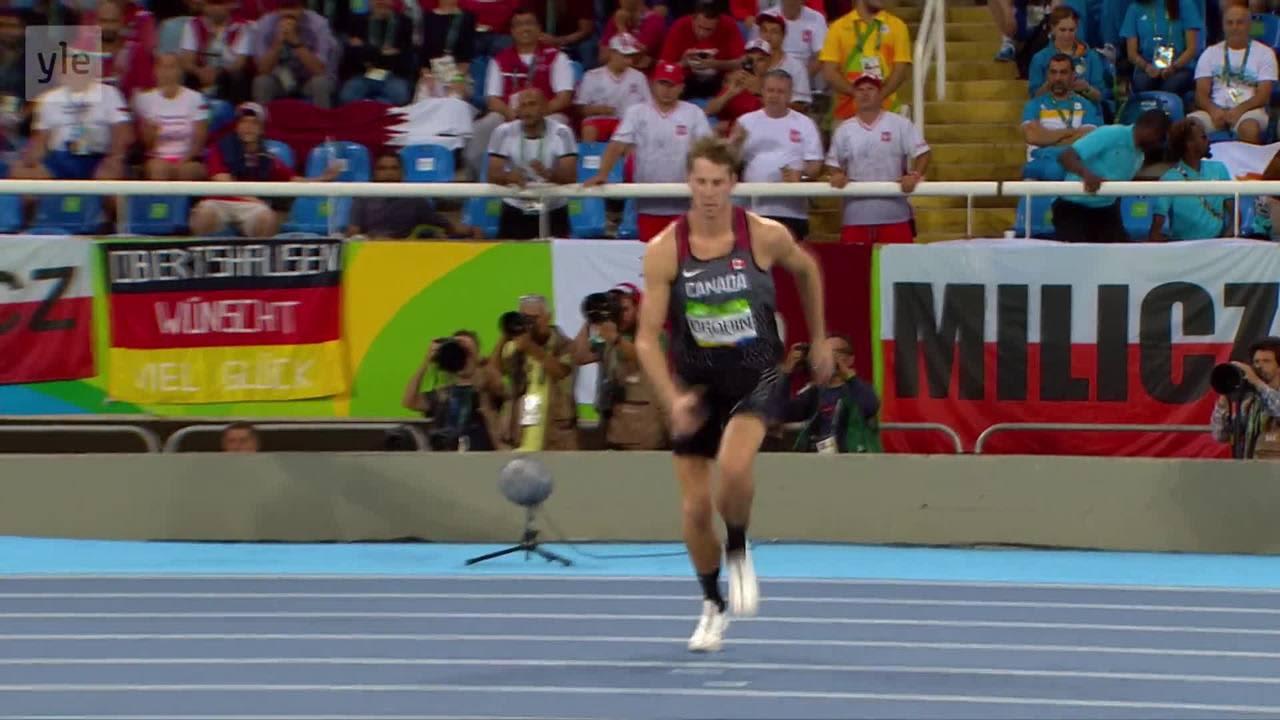 Rion olympialaiset: Miesten korkeudessa yksi ylitse muiden!