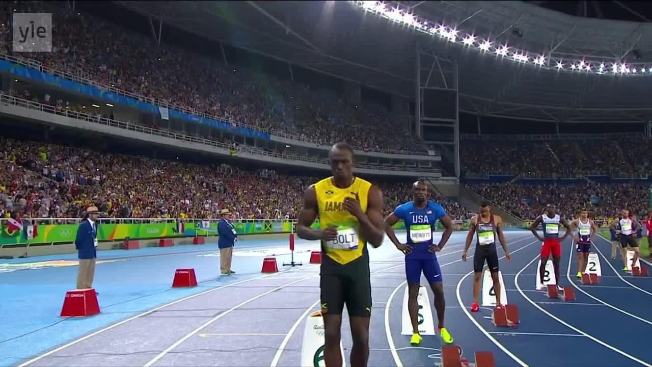 Rion olympialaiset: Usain Bolt - Voittamaton!