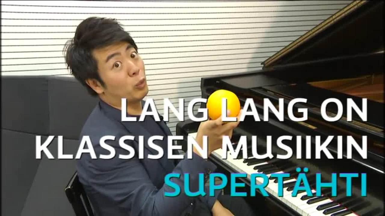 Uutisvideot: Lang Lang soittaa appelsiinilla pianoa