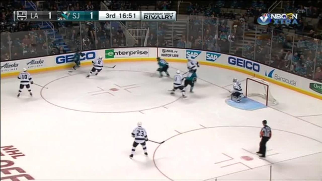 NHL huippuhetket: Donskoi syötti voittomaalin NHL-kauden avauksessa