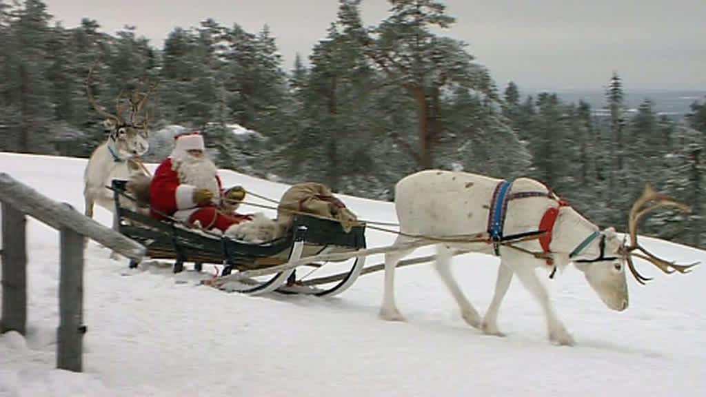 Uutisvideot: Joulupukki lähti matkaan