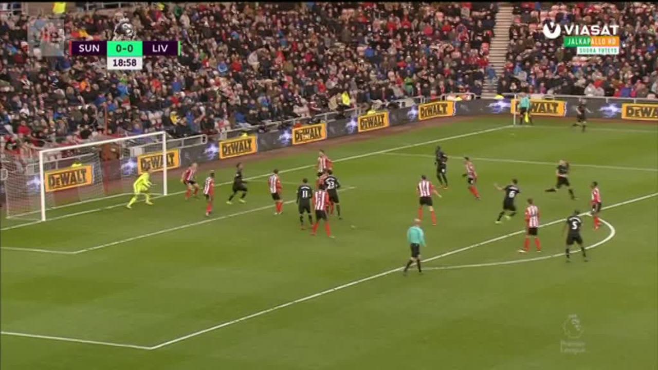 Valioliiga: Maalikooste: Sunderland - Liverpool