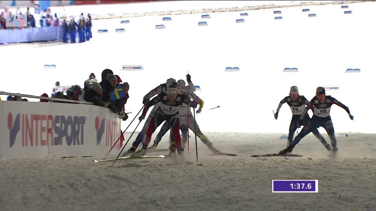 MM-Lahti, päivän tapahtumat: Falla naisten sprintin maailmanmestari