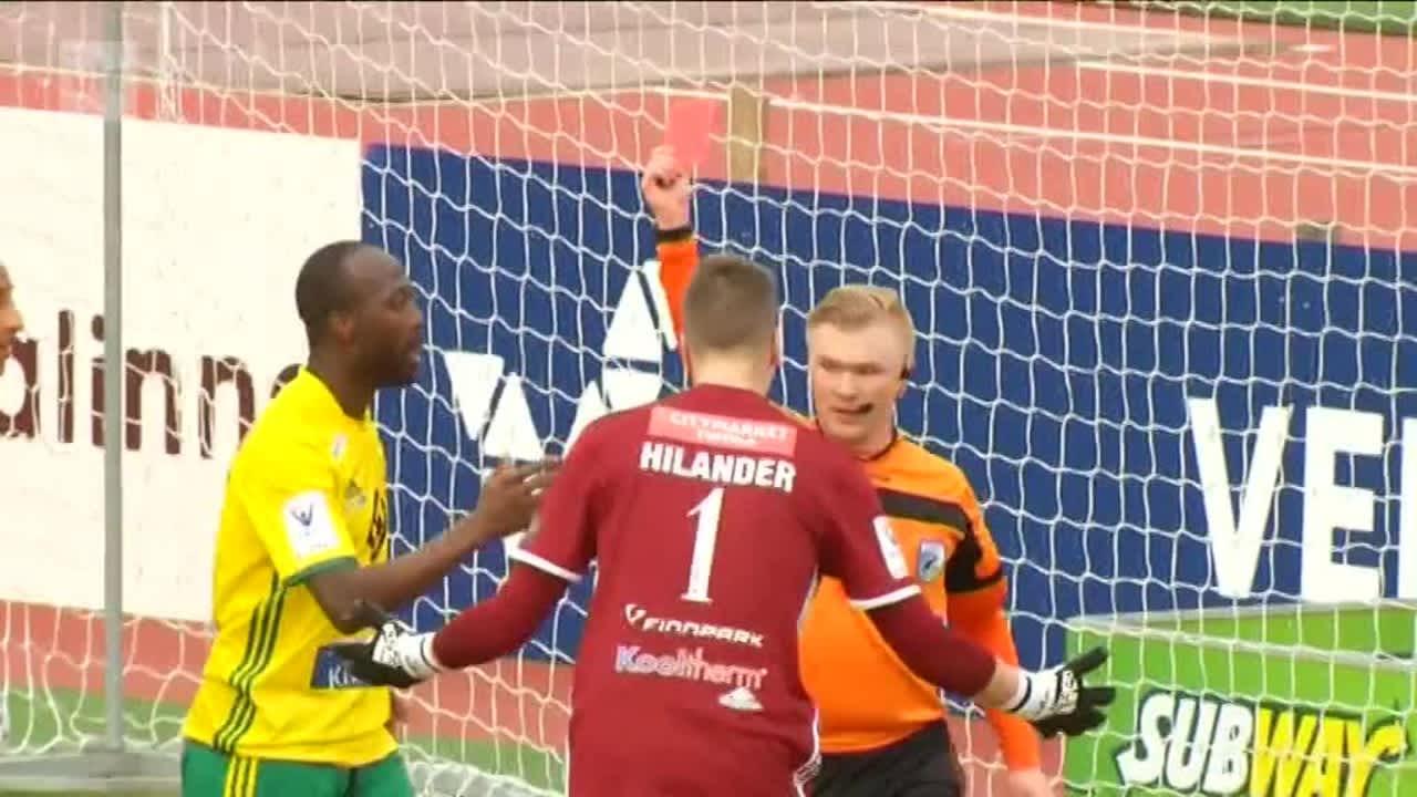 Urheilujuttuja: Ilves-vahdin ulosajo puhutti Tampereella