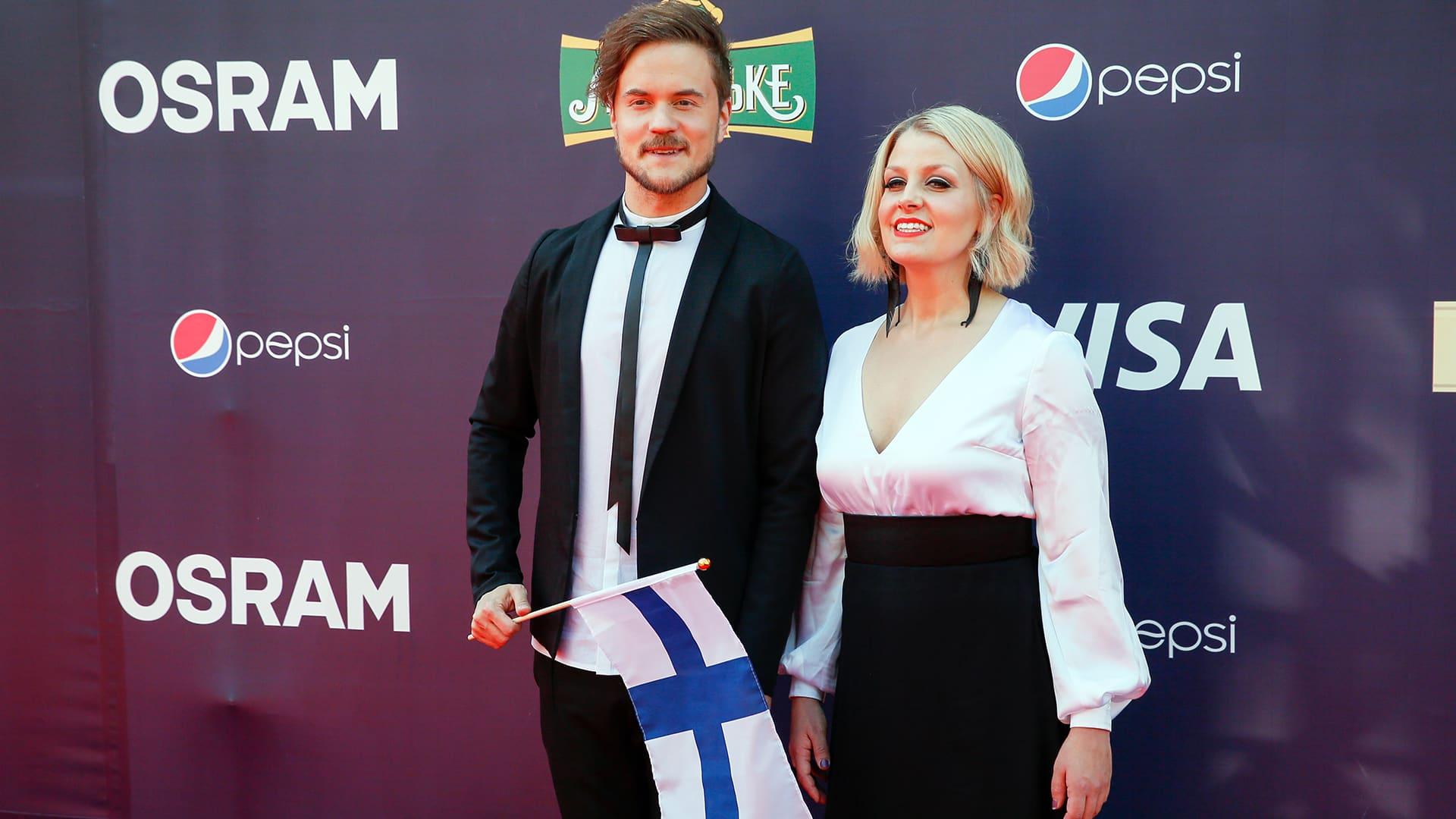 Uutisvideot: Euroviisujen avajaisjuhla
