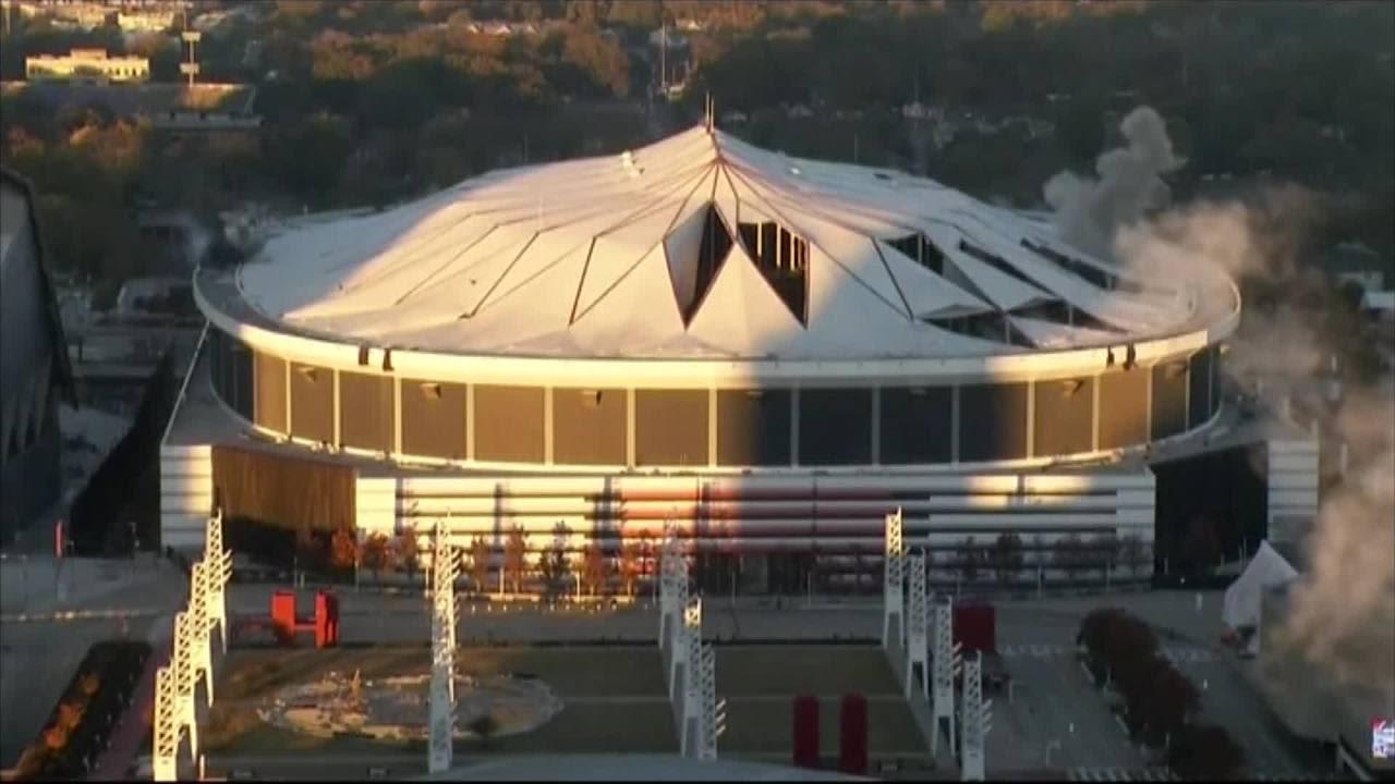 Uutisvideot: Georgia Domen räjäytys