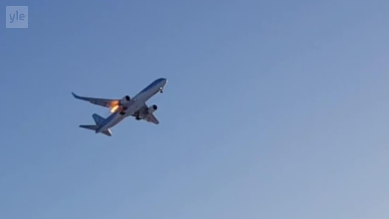 Uutisvideot: Vaasan lentokentällä vaaratilanne – lomalennolla kuului kova pamaus ja kone kaarsi takaisin kentälle