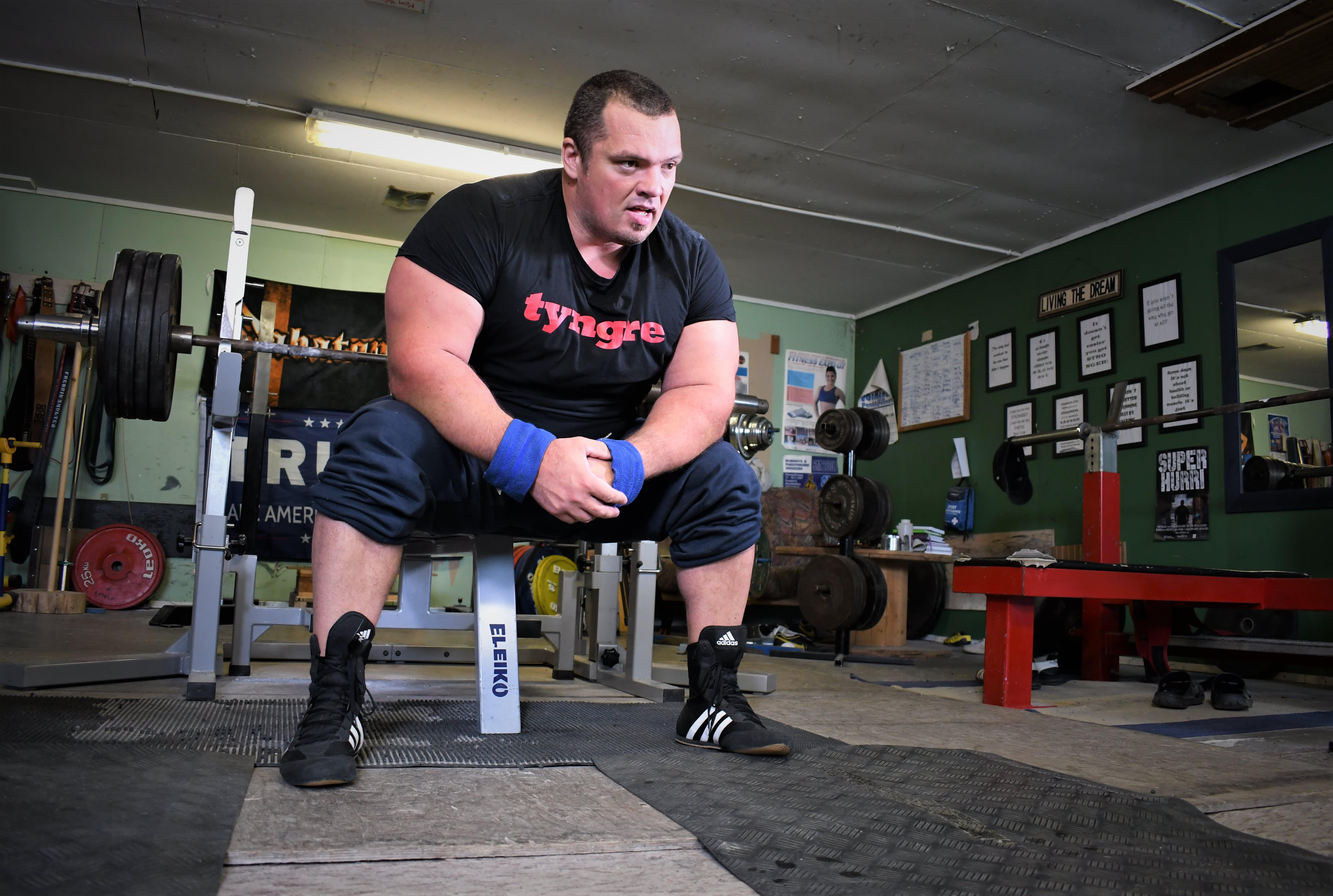 Fredrik Smulterin 400 kilon haamunosto oli alkusysäys uran loppumiselle