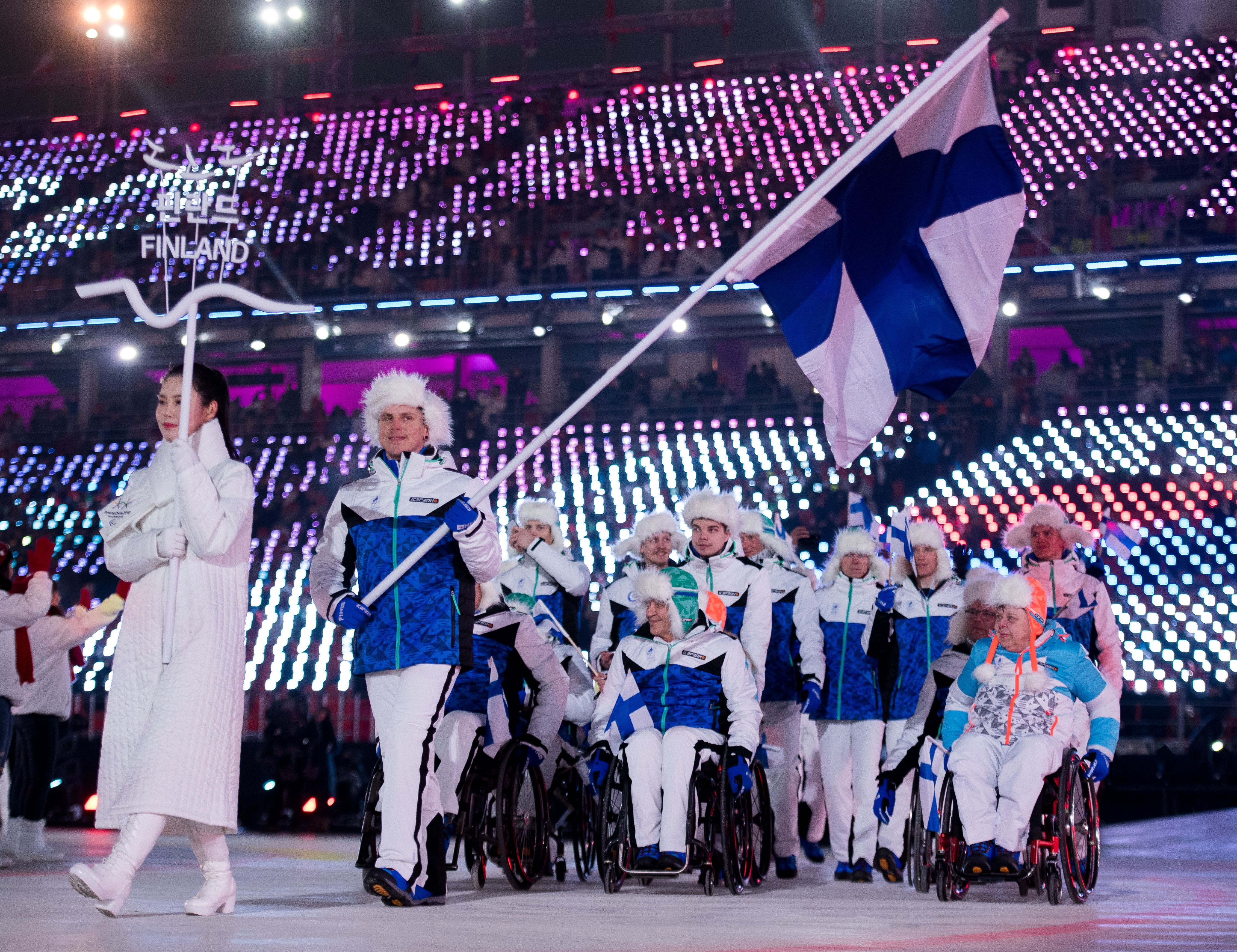 Suomen paralympiajoukkueen kotiinpaluu