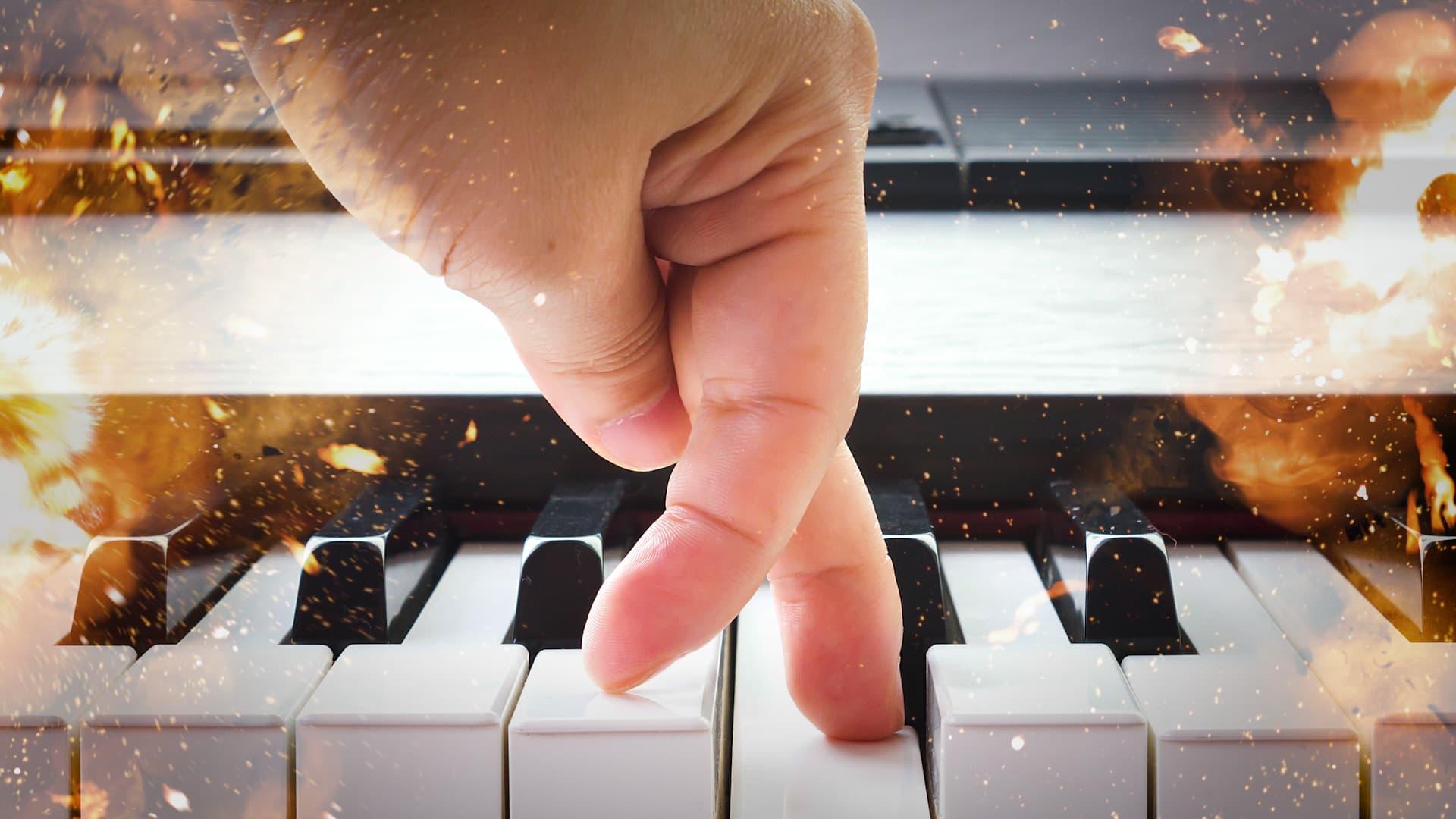 Kuinka monta kertaa minuutin aikana ehtii soittaa nuotin?