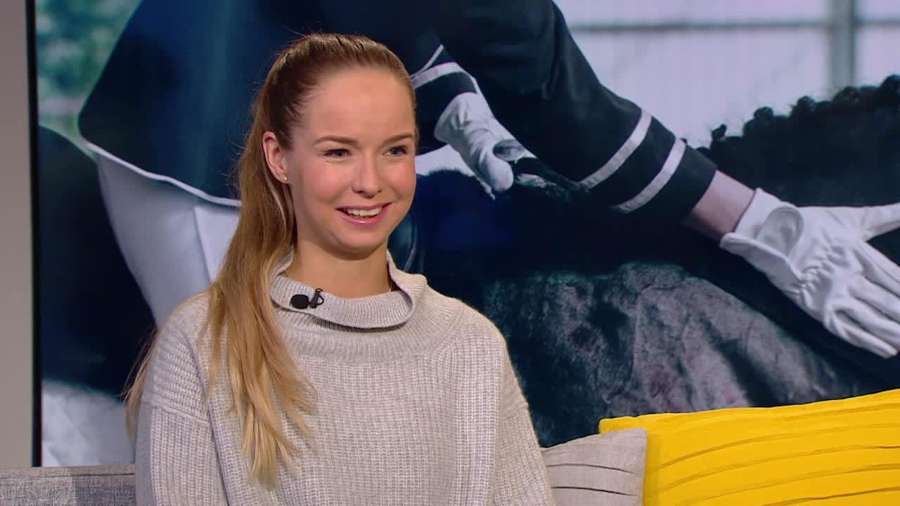 Ratsastajatähti Anna-Julia Kontio