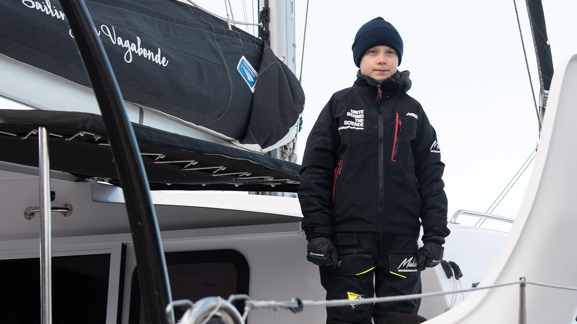 Greta Thunbergin merimatka päättyy