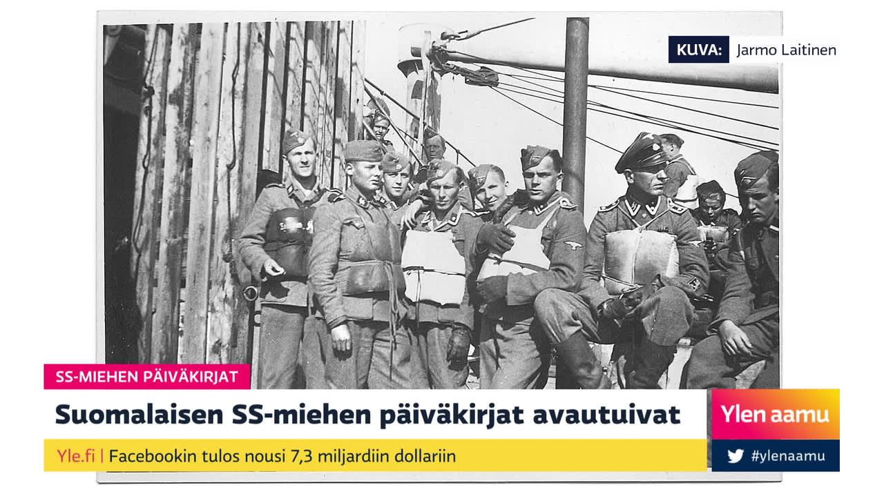 Mitä suomalaisen SS-miehen päiväkirjat kertovat natsi-Saksan hirmuteoista?