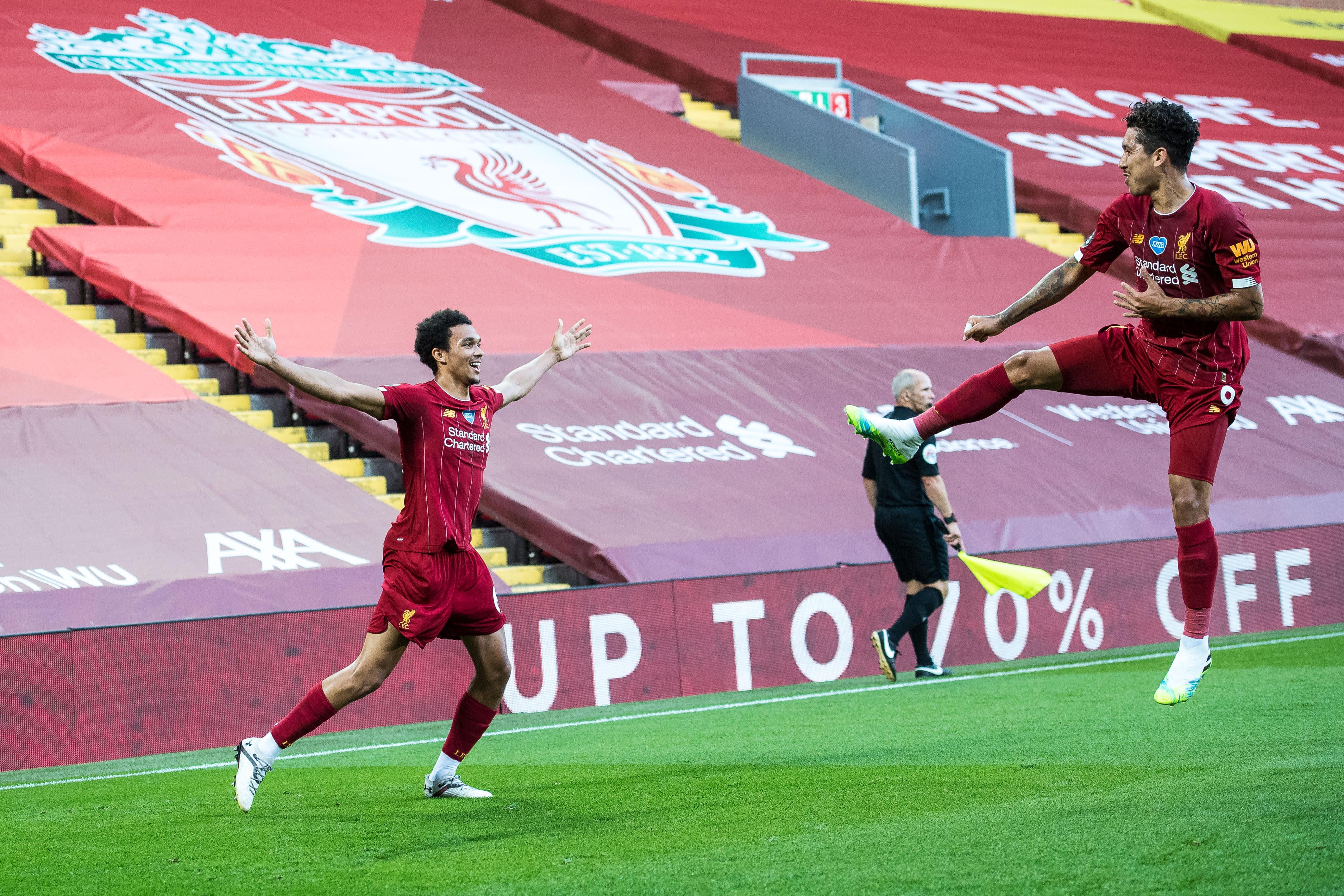 Liverpool murskasi Crystal Palacen maalikarkeloissa