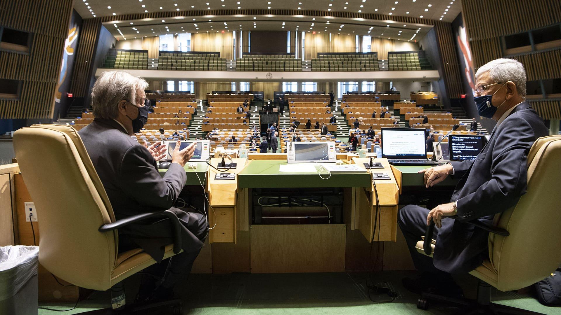 USA:n Trump, Kiinan Xi ja Venäjän Putin pitävät etäpuheensa YK:ssa
