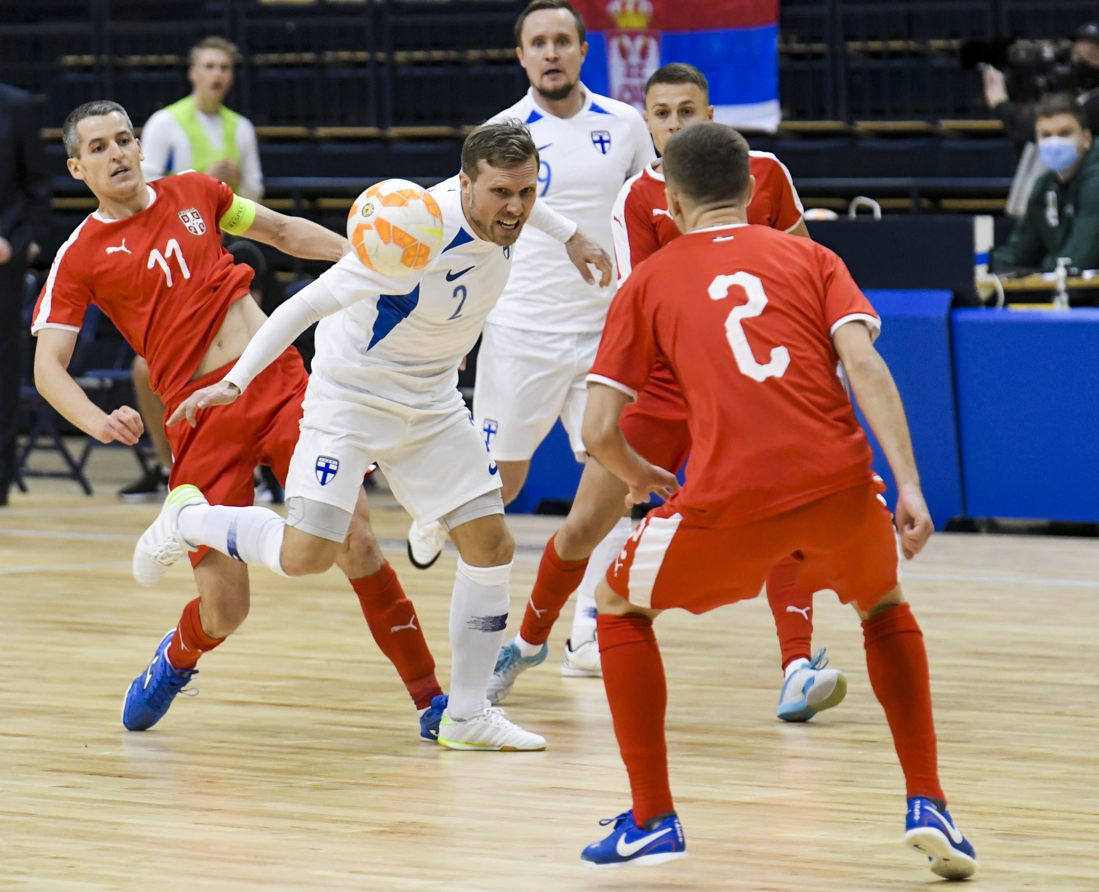 Futsalmiesten maalikimara ei riittänyt MM-kisoihin