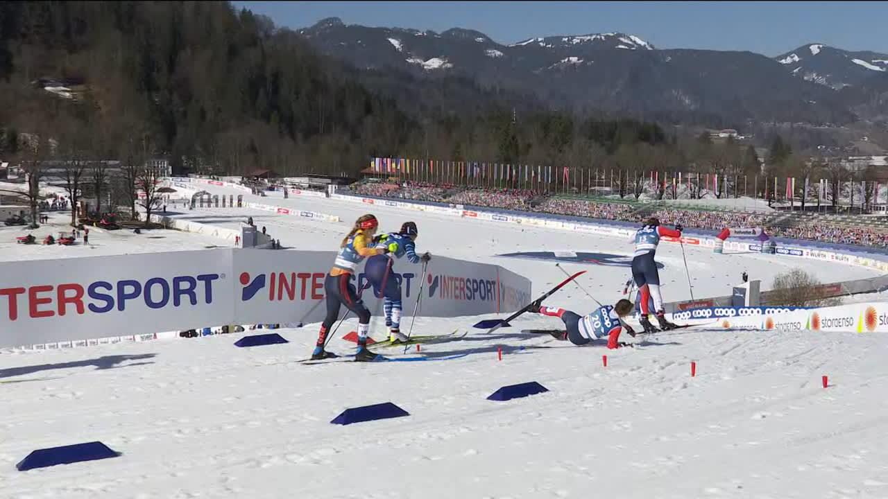 Norjan kaksoissisaret kolaroivat MM-sprintissä