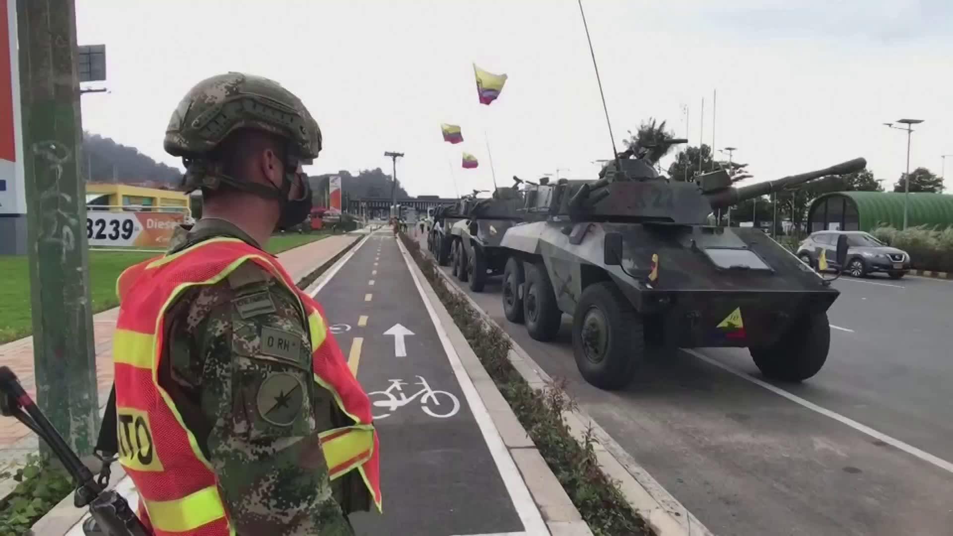 Useita ihmisiä kuollut mielenosoituksissa Kolumbiassa